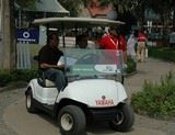 Yamaha Golf cart at India Open at Delhi Golf Club | Yamaha golf cart,Yamaha golfcar, Yamaha electric car, Yamaha battery car
