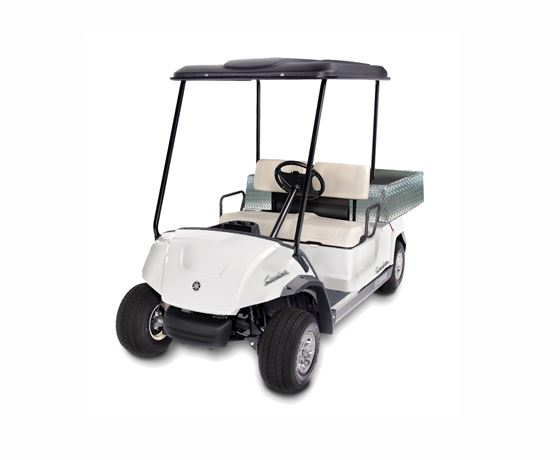 yamaha 2 seater with cargo bed, Yamaha golfcar, Yamaha golfcart, Yamaha electric car, Yamaha battery car